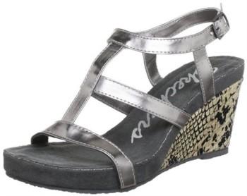 sandales compensées skechers