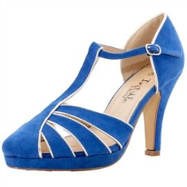 sandales bleu royal