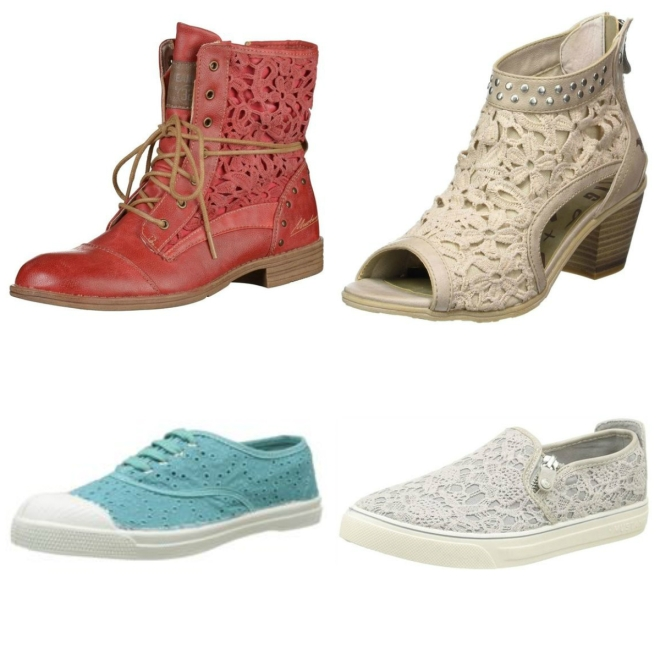 chaussures broderie